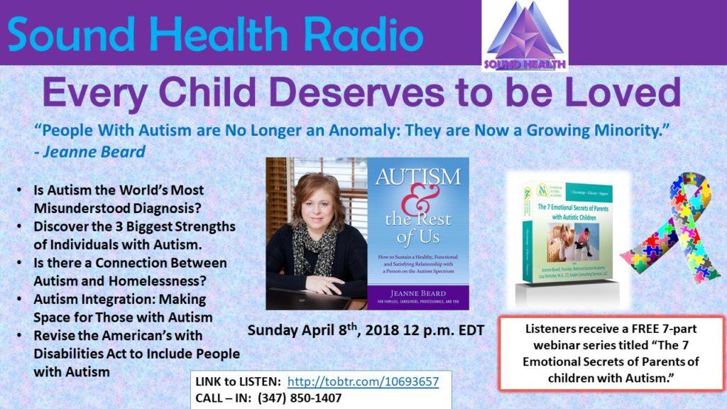 Jeanne Beard appearance on Sound Health Radio