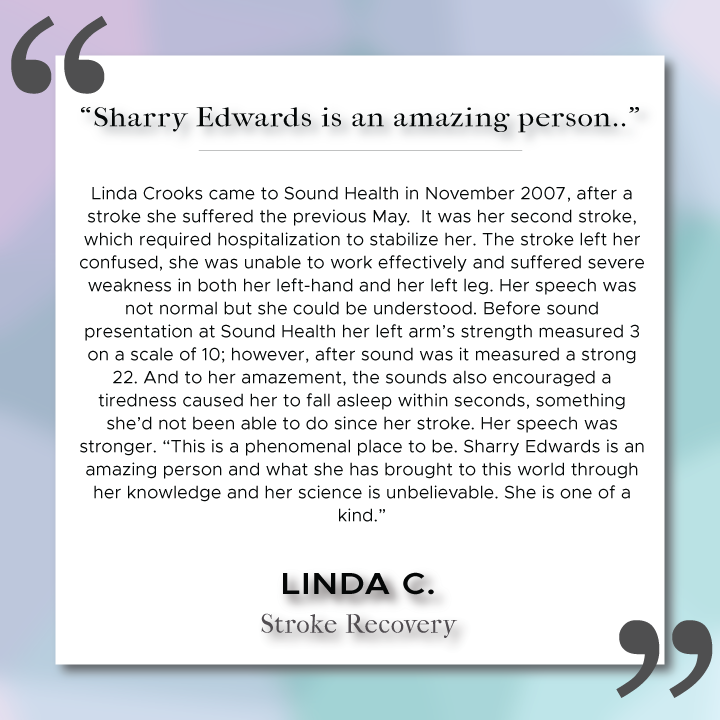 Sound Health Profile of Linda C.