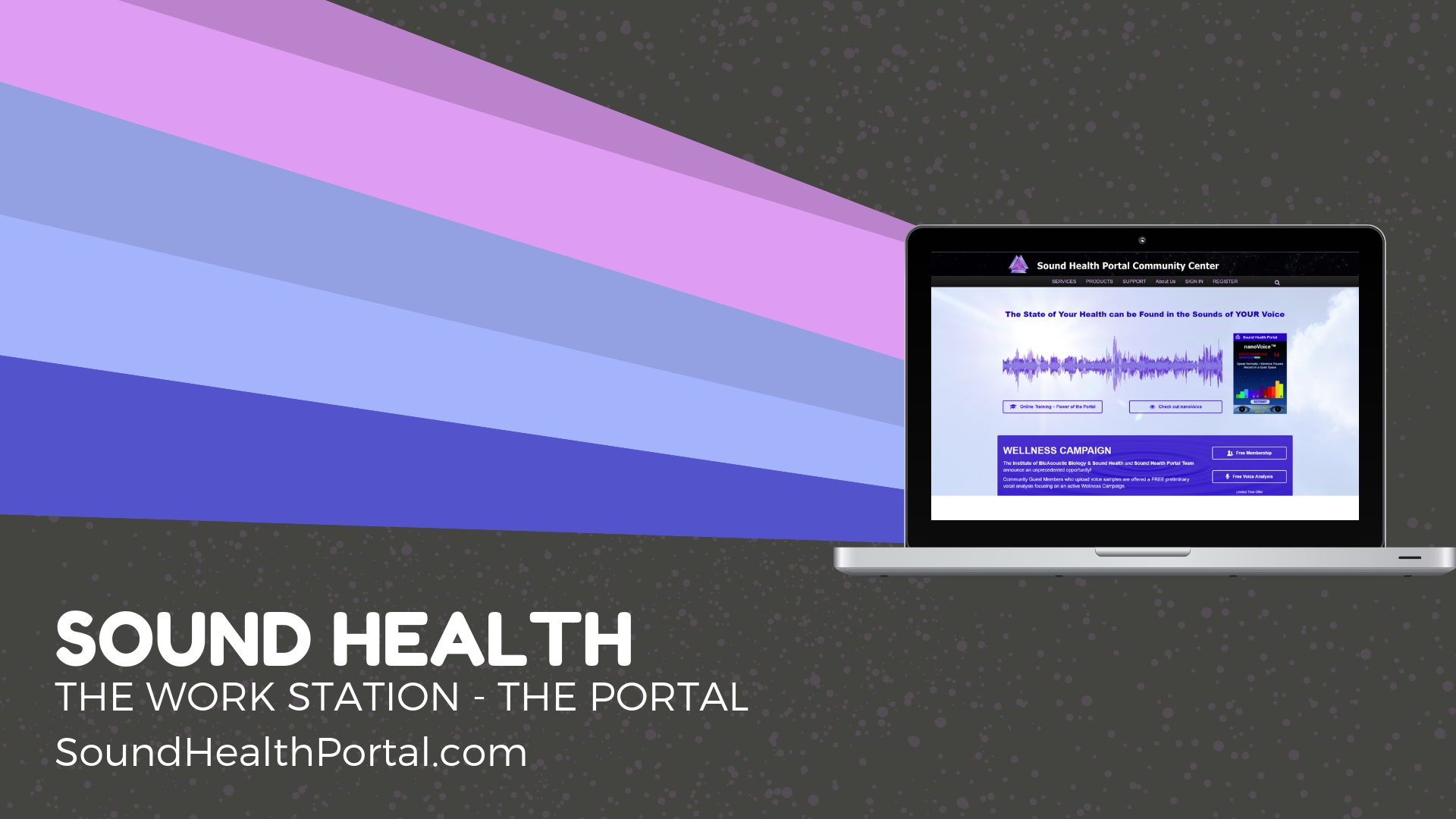 Sound Health Portal dot com